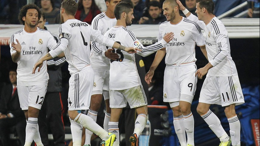 Festival de goles en el Bernabéu