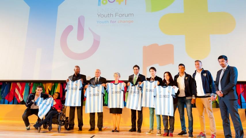 El Málaga participa en el 8º Foro de la Juventud de la UNESCO