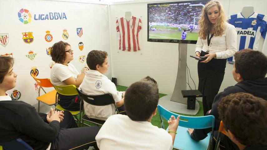 El 'Museo de La Liga' se encuentra una temporada más en Gijón