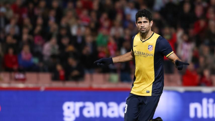 El Atlético no perdona en Los Cármenes