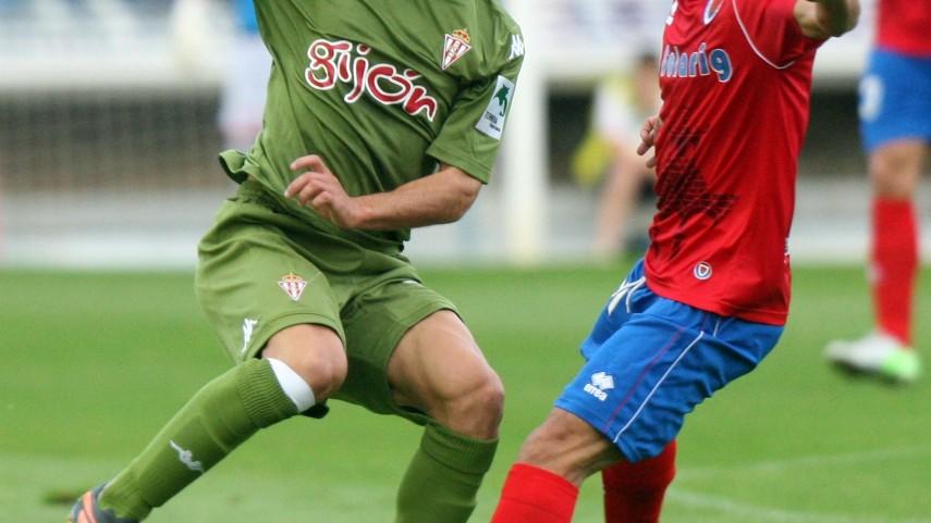 El Numancia evita el liderato del Sporting