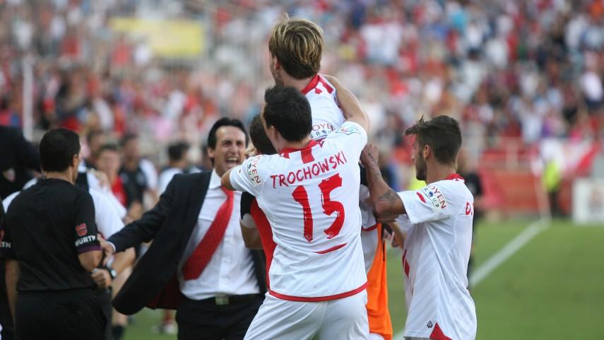 Atlético, Getafe y Sevilla, triunfadores del domingo