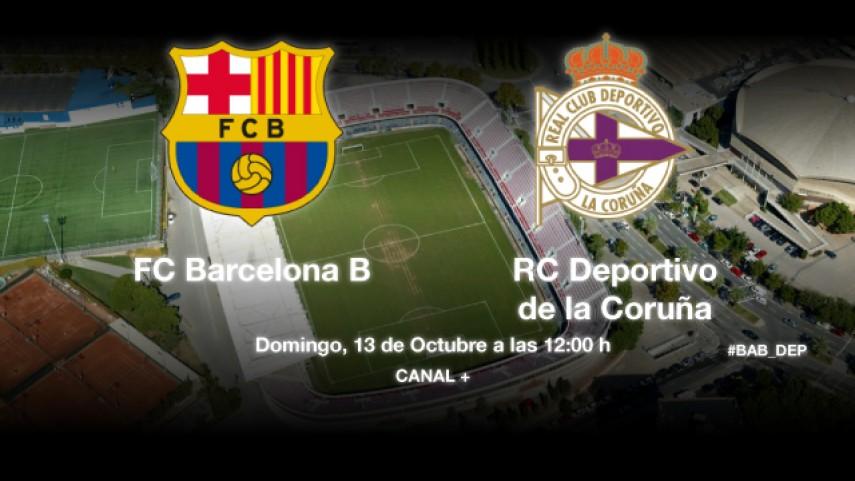 Barcelona B y Deportivo miden sus fuerzas en el Mini Estadi