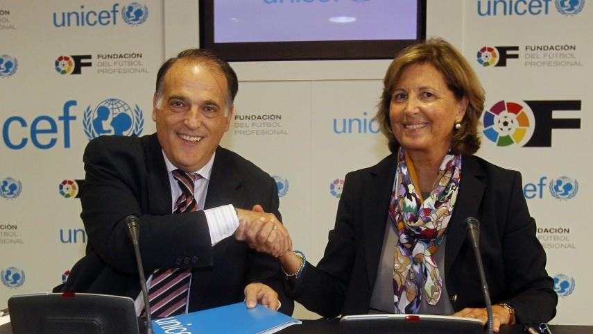 La LFP renueva su relación con UNICEF