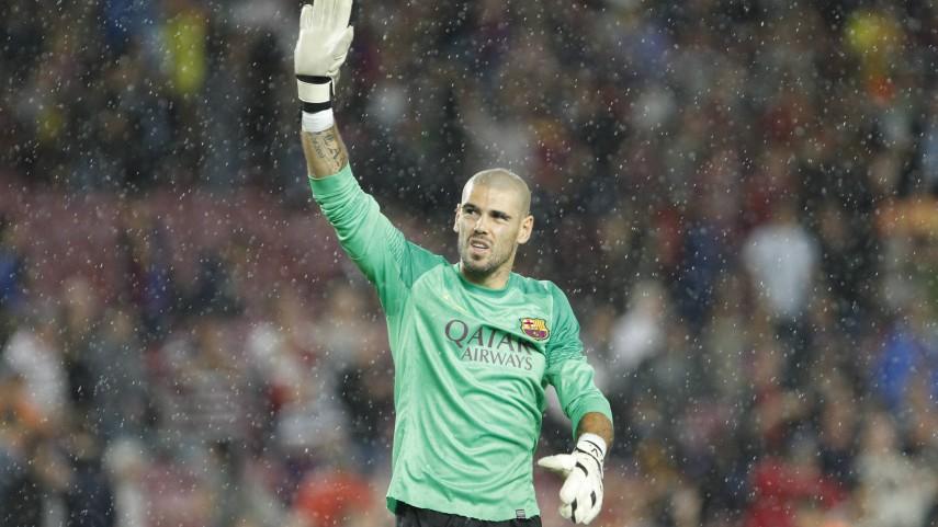 Valdés, seis semanas de baja