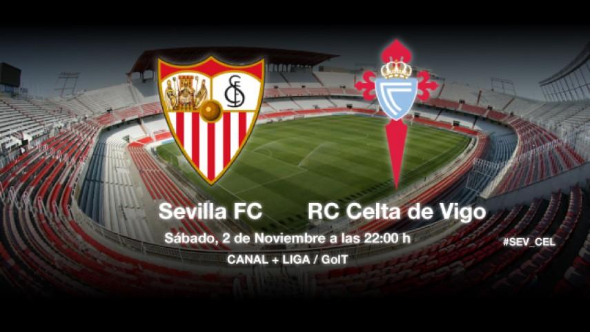El Celta probará a un Sevilla herido