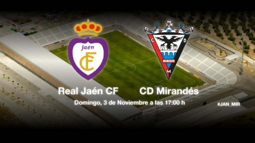 El Jaén, a por su tercera victoria consecutiva