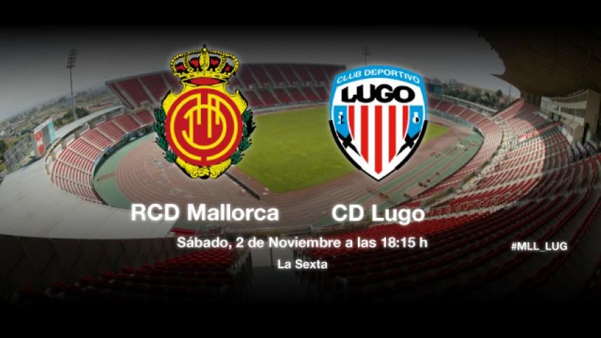 El Mallorca mide la racha del Lugo
