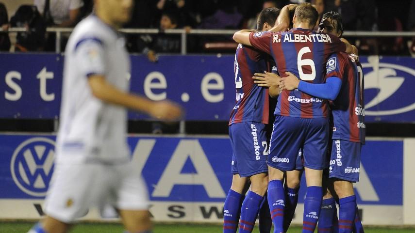 Un histórico Eibar brilla en la Liga Adelante