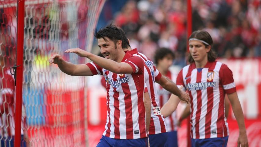 Villa y Costa lanzan al Atlético