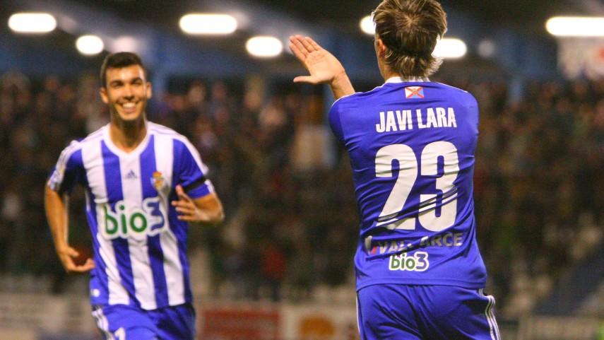 Deportivo y Las Palmas se meten arriba