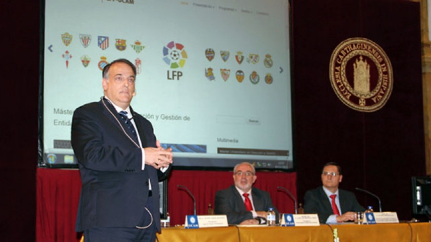 Las clases del 'Sports Management Institute LFP-UCAM' arrancan en Uruguay
