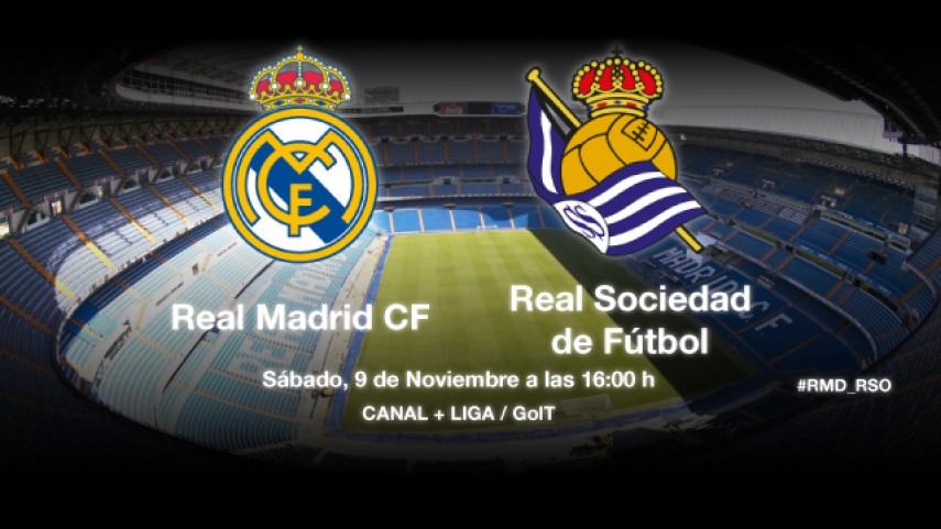 Una Real en forma visita el Bernabéu