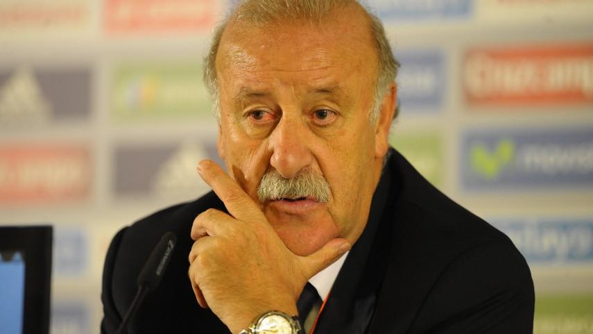 Nueva lista de Del Bosque para los partidos ante Costa Rica y Bielorrusia