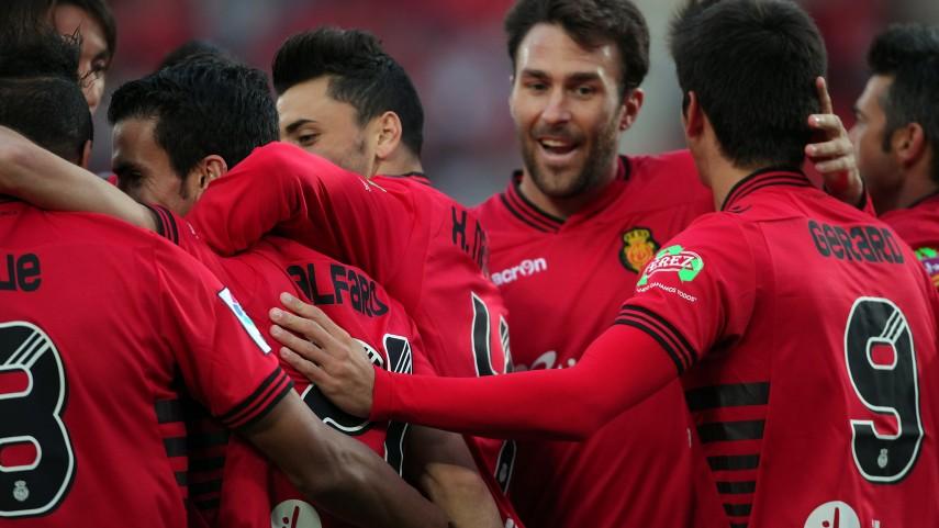 El Mallorca sonríe de nuevo