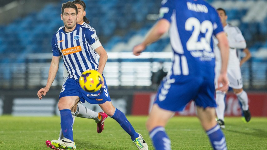 Sergio Tejera, cedido al Alavés