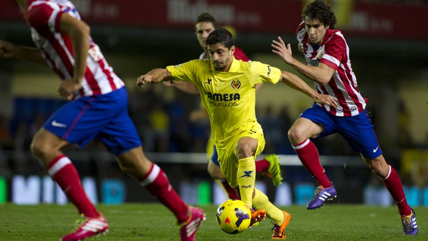 Villarreal hampers Atlético