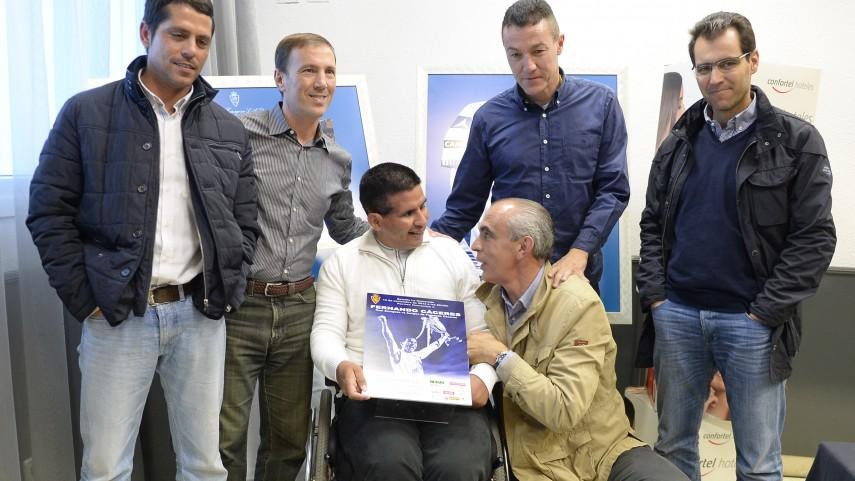 Fernando Cáceres ya disfruta de 'su' Zaragoza