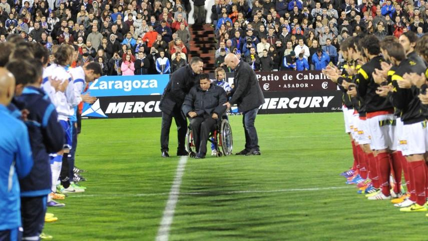 Fernando Cáceres, jugador del partido
