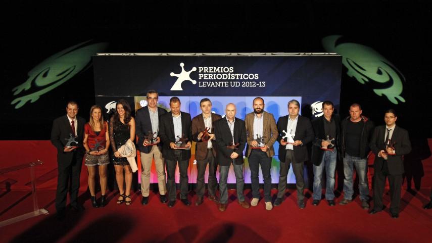 El Levante entrega los 'Premios Periodísticos 2012-13'