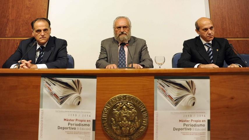 La LFP, presente en el Máster de la Universidad de Sevilla