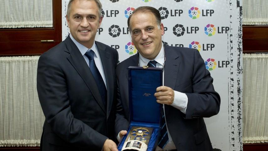 La LFP homenajeó a sus ex directivos y ex presidentes
