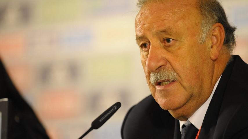 Del Bosque, seleccionador español hasta 2016