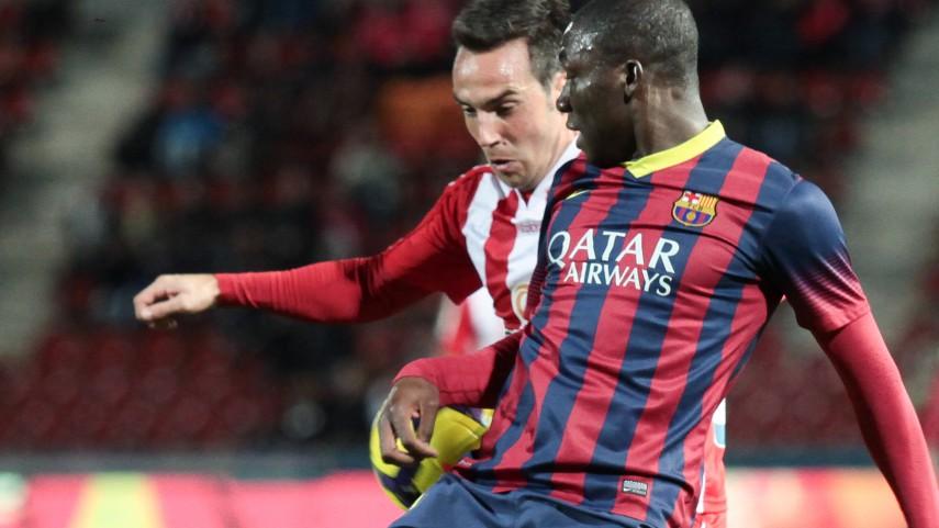Edu Bedia da la victoria al Barcelona B