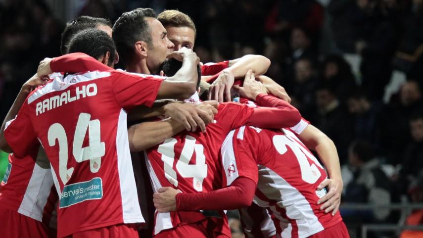 El Girona no baja los brazos