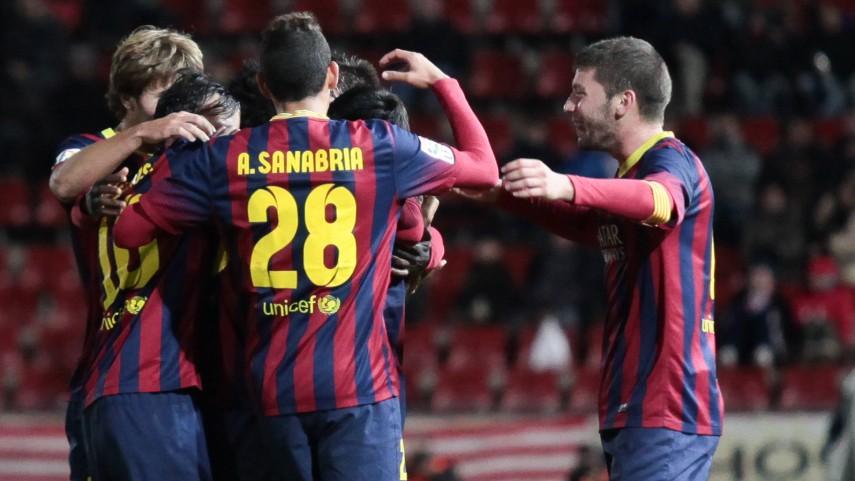 Bedia rescata al Barcelona B