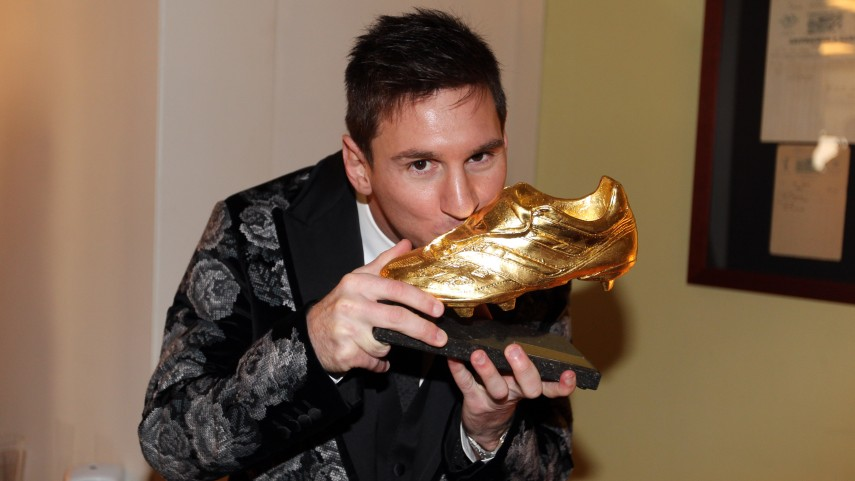 Messi conquista su tercera Bota de Oro