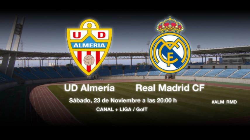 El Real Madrid visita a un Almería en racha