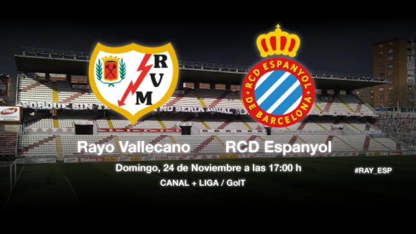 El Espanyol quiere recuperarse en Vallecas