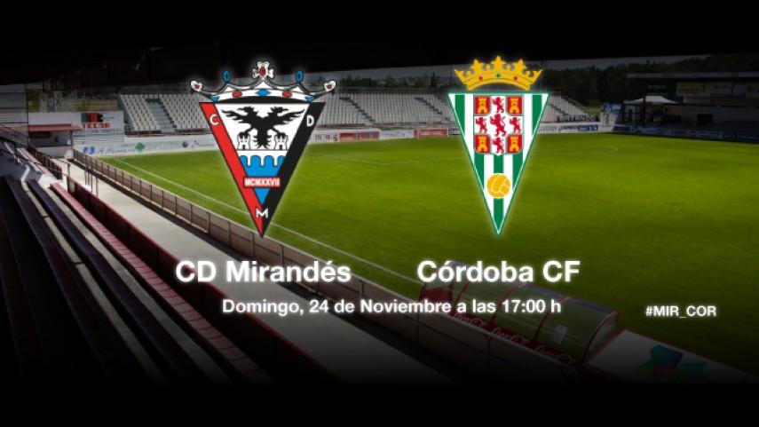Mirandés y Córdoba buscan la regularidad