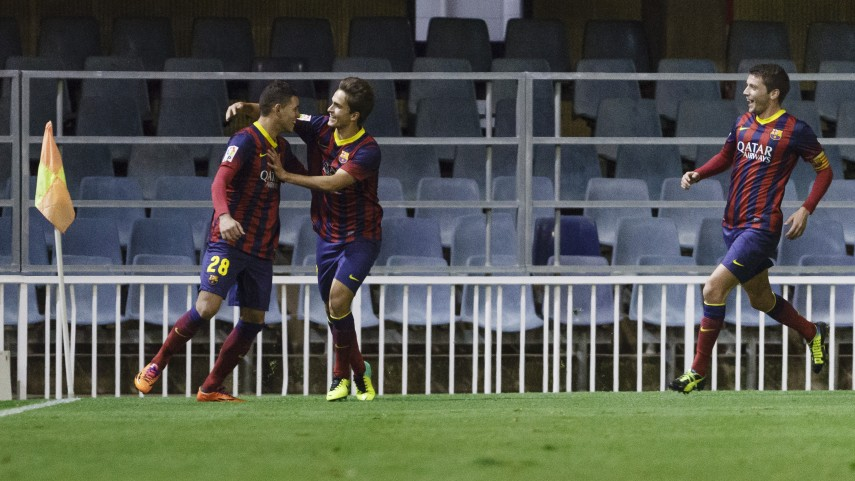 El Barcelona B se aleja del descenso