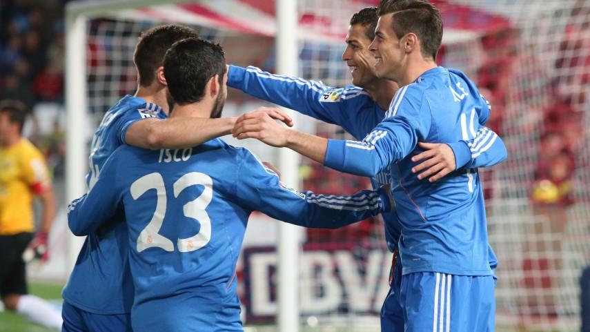 El Real Madrid frena la racha del Almería