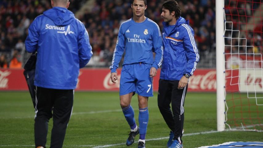 Cristiano Ronaldo, pendiente de evolución