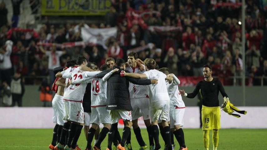 El Sevilla se impone en el derbi
