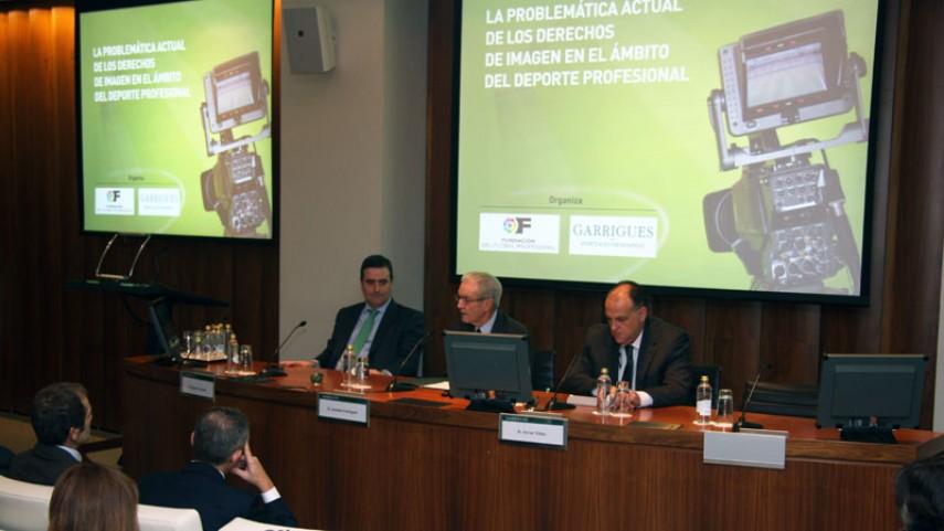 La LFP y Garrigues inauguran la Jornada sobre Derechos de Imagen