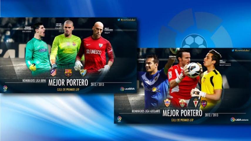 Los mejores porteros, en los Premios LFP