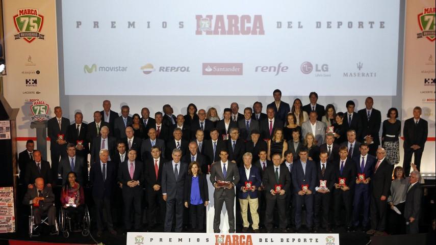 La LFP acompaña a Marca en su 75 aniversario