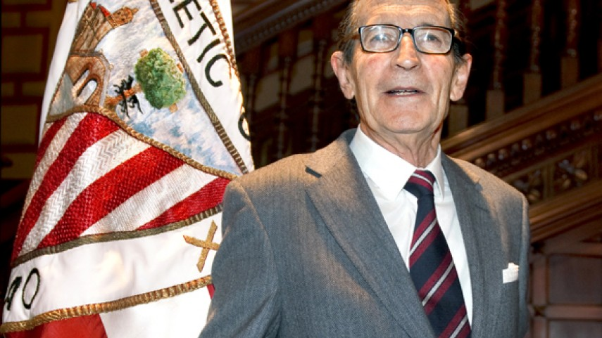 Fallece el ex presidente del Athletic Duñabeitia