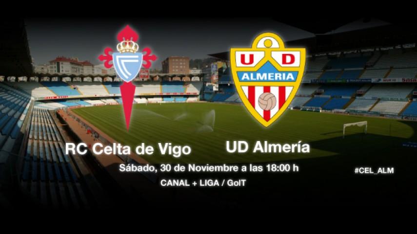 Celta y Almería, a retomar la senda del triunfo