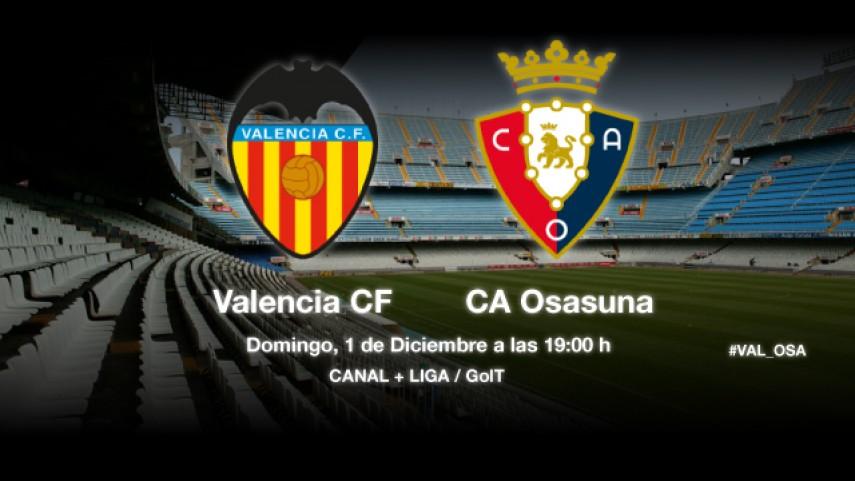 Osasuna, a conquistar Mestalla