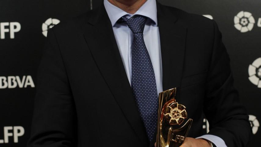 Fran Escribá, Mejor Entrenador de la Liga Adelante
