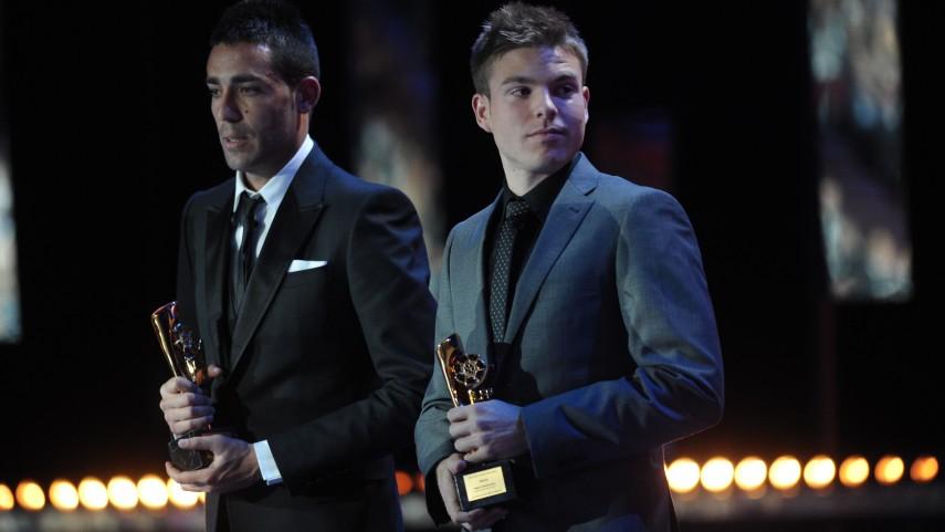 Bruno wins the BBVA Fair Play Award in the Liga Adelante category