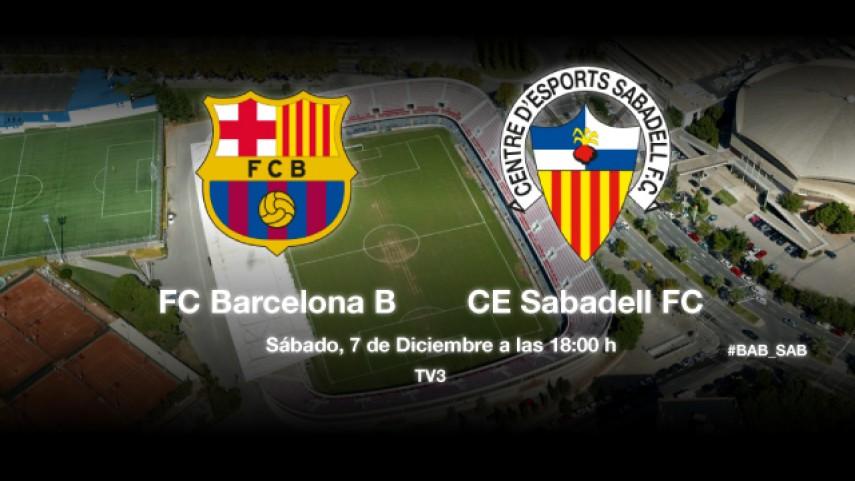 Barcelona B y Sabadell buscan remontar el vuelo