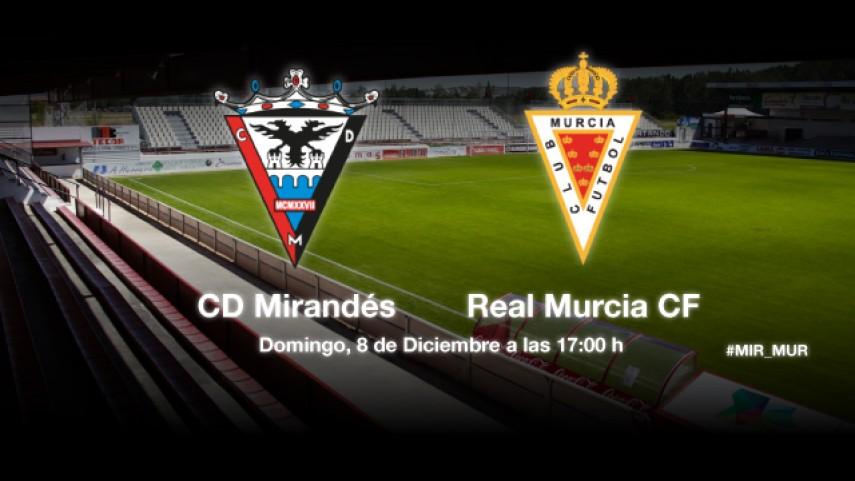 El Murcia quiere volver a asaltar Anduva
