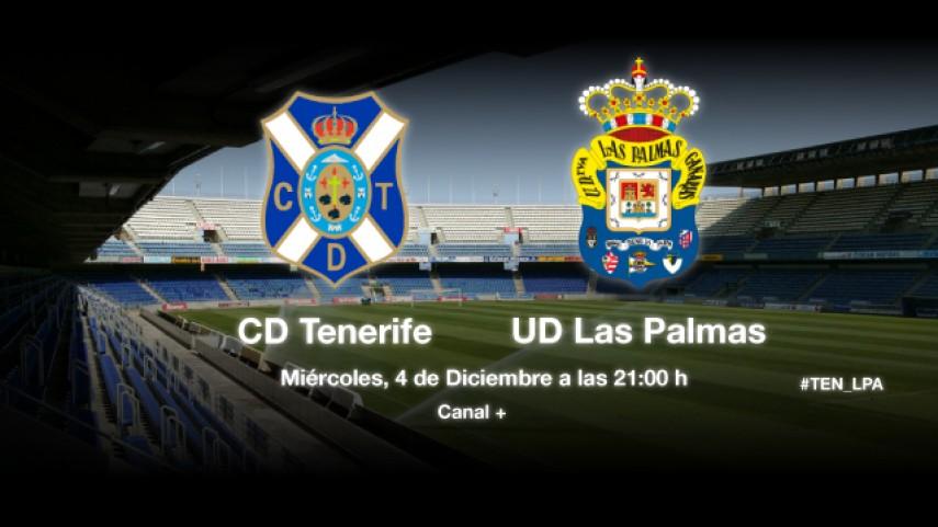 Las Palmas pone a prueba la racha del Tenerife