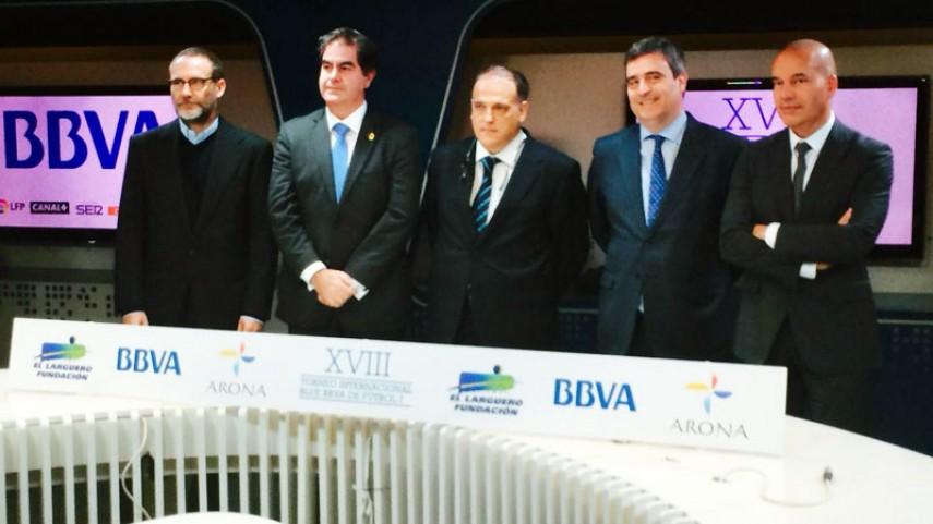 La LFP, en la presentación del XVIII Torneo Blue BBVA